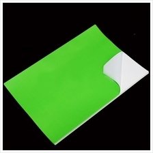 Green PVC Sticker A4 100's Waterproof/Tearproof *Free Shipping