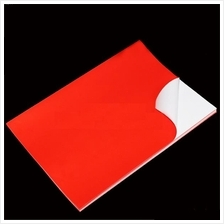 Red PVC Sticker A4 100's Waterproof/Tearproof *Free Shipping