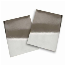 Silver Bright Polyester PVC Sticker A4 100's Waterproof/Tearproof