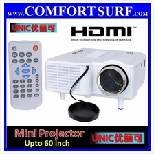 UNIC UC28+ 3rd Gen Mini LED Projector With VGA HDMI USB Remote Control