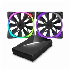 NZXT AER RGB WITH HUE+ CONTROLLER (140MM X2)