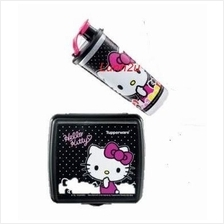 Tupperware Hello Kitty Lunch Set - Black