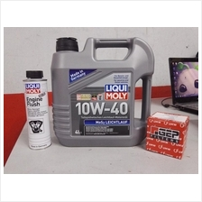Liqui Moly Semi Synthetic 10w40 Basic Service Package Kit