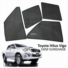 Custom Fit OEM Sunshades/ Sun shades for Toyota Hilux Vigo (4PCS)