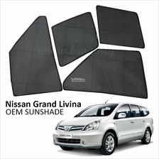 Custom Fit OEM Sunshades/ Sun shades for Nissan Grand Livina (4PCS)