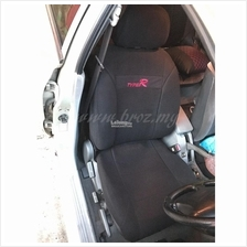 Type R Car Seat Cover Universal Styling Car - Black PROTON PERODUA