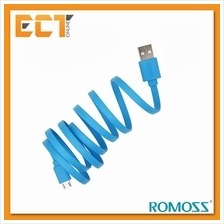 Romoss 1M Fast Charging  & Data Sync Micro USB Charging Cable - Blue