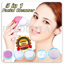 Deep Clean 5 in 1 Electric Facial Skin Face Care Cleaner Brush Massage