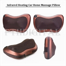 Infrared Heating Car Home Massage Pillow Cervical Neck Body Cushion