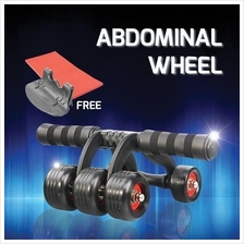 Upgrade 5 Wheels Ab Roller Muscle Fitness Abdominal Wheel Core Trainer