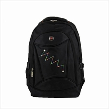 CUTE® M605 BRAND 'M' BACKPACK - BLACK BPM605BKVS