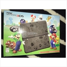 New Nintendo 3DS Super Mario Black Edition  Only 1