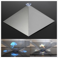 3D Holographic Hologram Display Pyramid Stand Projector Creative Gifts