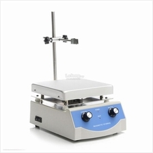SH-3 110V 500W Magnetic Stirrer Machine Anodised Hot Plate Lab Tool 17