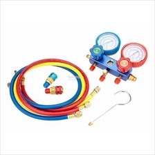 A/C Manifold Gauge Set R-134a Auto Air Conditioner with Colored Hose