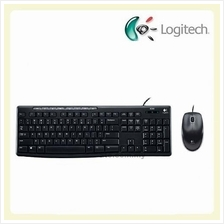 Logitech Media Wired Combo MK200 w/ Music Control (Keyboard + Mouse)