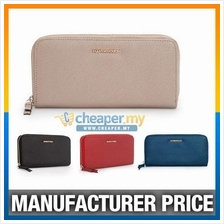 MNG Mango Touch Cross Pattern Multicolor Wallet Purse