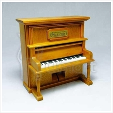 Musical Wooden Upright Piano Music Box (Laputa: carrying you)