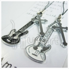Music Cross Electronic Guitar Couple Handphone Strap (2 per set)