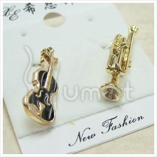 Music Fashion Alloy Musical Instruments Earrings