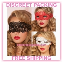 Sexy Eye Mask Women Masquerade Costume Lingerie Accessories (3 Colors)