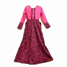 Kids Jubah Dress Moden / Kurung / Peplum (5-9Yrs Old)