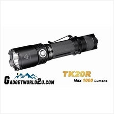 Dec Sale Fenix TK20R Rechargeable CREE XP-L HI LED Flashlight Battery