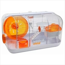 Habit rail Cristal Hamster House / Home / Cage