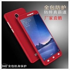 XIAOMI REDMI 3S 3 PRO NOTE 3 PRO 360 Protection Tempered Glass Case