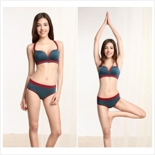Padded Sports Bra with Matching Briefs (4 Colours Available)
