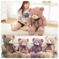 100cm Plush Teddy Bear (4 Colours Available)