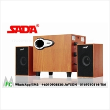 Sada speaker wood wooden sound notebook computer 2.1 heavy bass gun