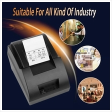 USB Mini 58mm POS Thermal Dot Receipt Bill Printer Set Roll Paper POS-..