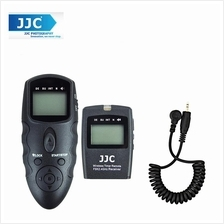 JJC WT-868 with Cable-J LCD Timer Remote for Camera Olympus E-P1 E-P2
