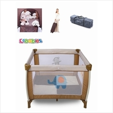Portable Child Baby Travel Cot Bed Bassinet Play Pen 1m*1m Big Size