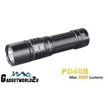 Fenix PD40R CREE XHP70 LED Rechargeable Flashlight w Battery