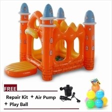 INTIME K2017 Inflatable Playground Castle with Electronic Pump