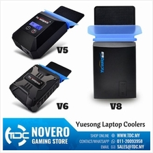 Yuesong V5 V6 V8 USB Portable Laptop Cooler Cooling Fan