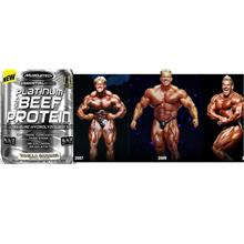 Muscletech Platinum Beef Protein Isolate 48 Serving ( 0 Sugar Gula Fat