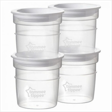 Tommee Tippee Closer to Nature Milk Storage Pots (4pcs)