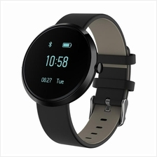 S10 Blood Pressure Heart Rate Monitor Bluetooth Smart Watch (Black)
