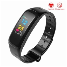 M8 Blood Pressure Heart Rate  Monitor Bluetooth Smart Watch Support IO
