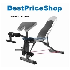 Multifunction Dumbbell SitUp FID Preacher Curl Gym Bench Chair JL-209