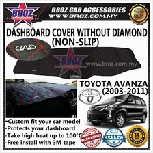 Non Slip Dashboard Cover without diamond for Toyota Avanza 2003-2011