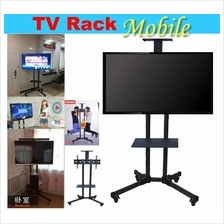 TV Trolley Stand. Mobile Carts for LED LCD TV Display.Bracket. TV Rack