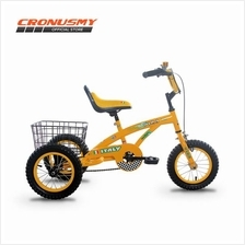 "[CRONUS.MY] Asogo 12"" Tricycle with Basket A1312522-BC"