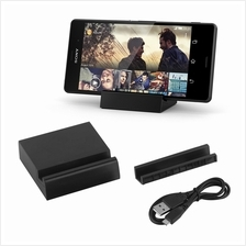 Magnetic Charging Dock Stand Cradle Charger Cable For Sony Xperia Z3 D..