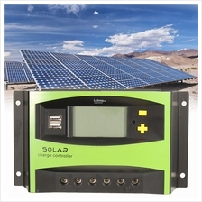 20A/30A 12V/24V LCD Solar Charge Controller Panel Battery Regulator