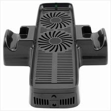 Xbox 360 3 in 1 USB Cooling Fan Controller Stand Slim Design
