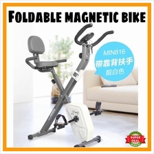 UPGRADE Premium Foldable Magnetic Bike Fitness Gym Bike Magnetic NEW